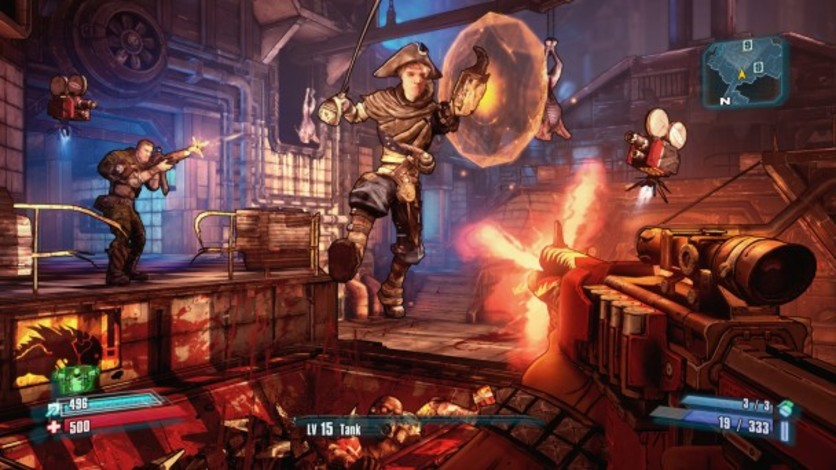 Screenshot 3 - Borderlands 2: Headhunter 2: Wattle Gobbler
