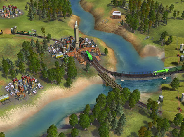 Screenshot 2 - Sid Meier's Railroads!