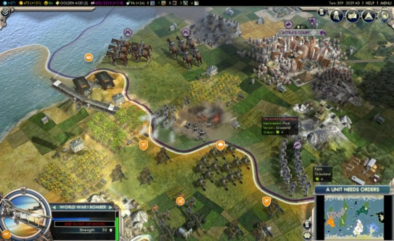 Screenshot 2 - Sid Meier's Civilization V: Gods & Kings