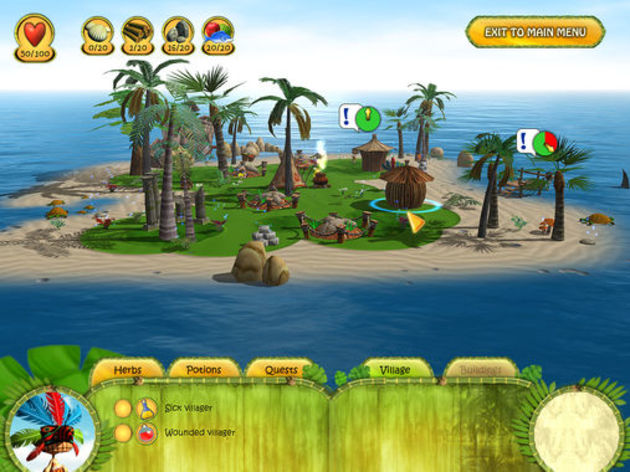 Screenshot 7 - Shaman Odyssey: Tropic Adventure