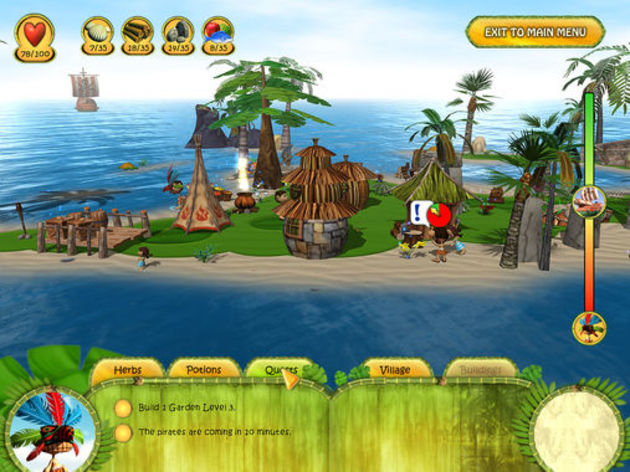 Screenshot 1 - Shaman Odyssey: Tropic Adventure