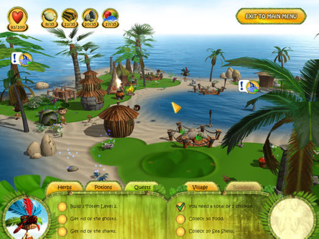 Screenshot 8 - Shaman Odyssey: Tropic Adventure
