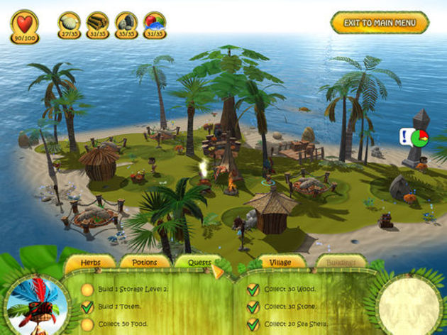 Screenshot 4 - Shaman Odyssey: Tropic Adventure