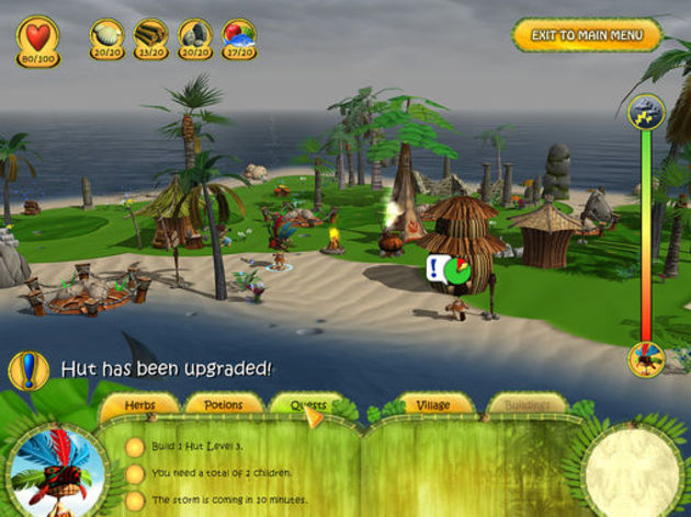 Screenshot 2 - Shaman Odyssey: Tropic Adventure