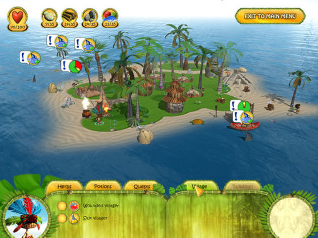 Screenshot 6 - Shaman Odyssey: Tropic Adventure