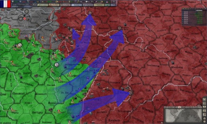 Screenshot 9 - Hearts of Iron 3 - Their Finest Hour
