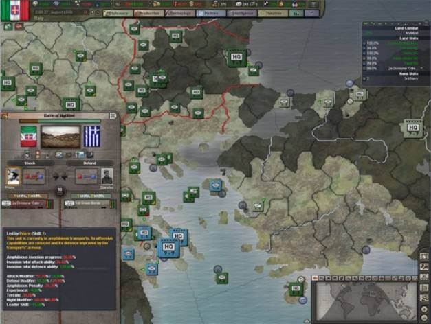 Screenshot 3 - Hearts of Iron 3 - Their Finest Hour