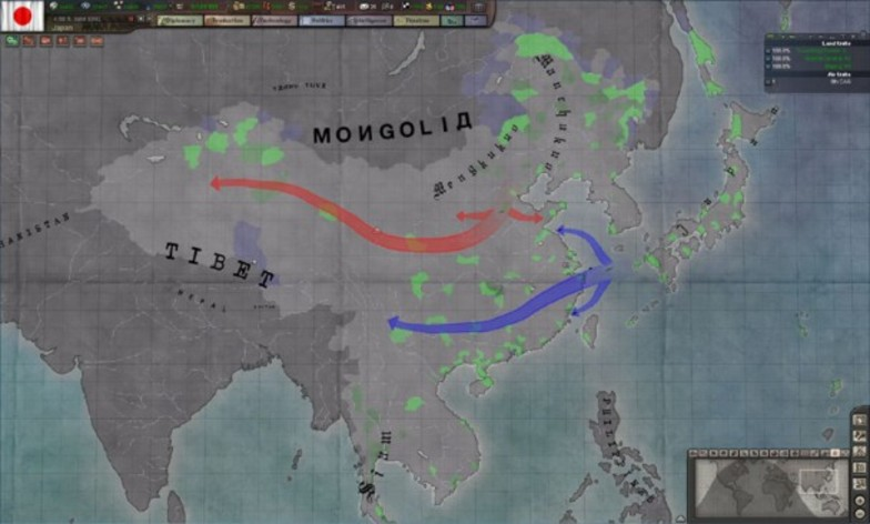 Screenshot 7 - Hearts of Iron 3 - Their Finest Hour