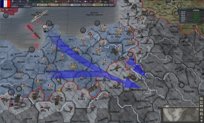 Screenshot 5 - Hearts of Iron 3 - Their Finest Hour