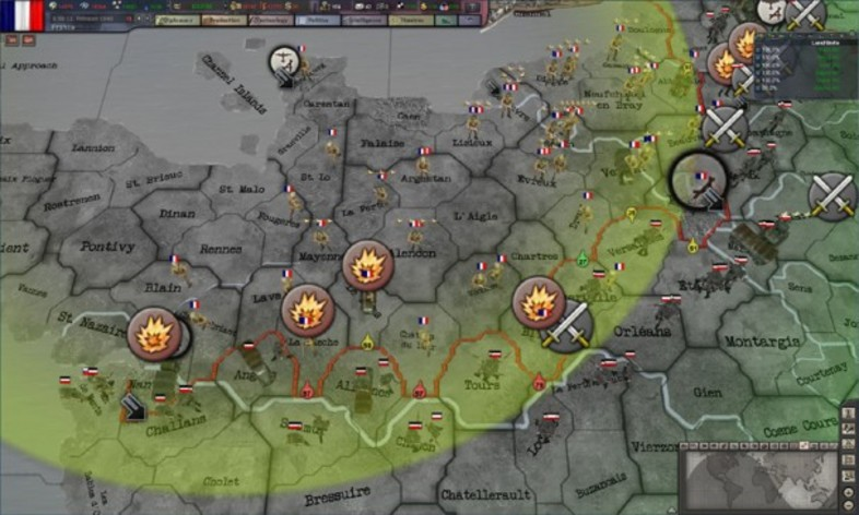 Screenshot 4 - Hearts of Iron 3 - Their Finest Hour