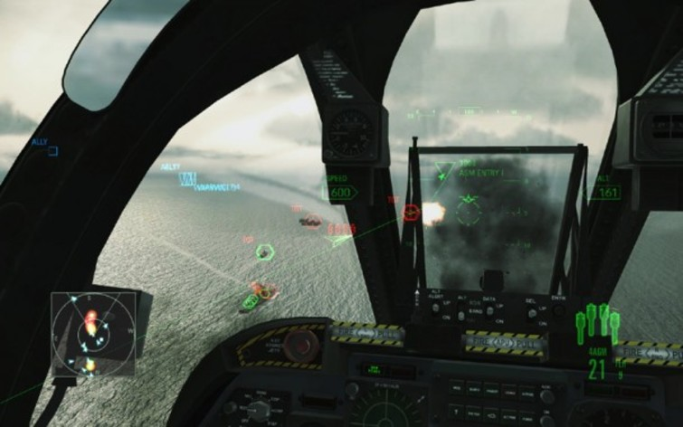 Screenshot 2 - Ace Combat Assault Horizon - Enhanced Edition