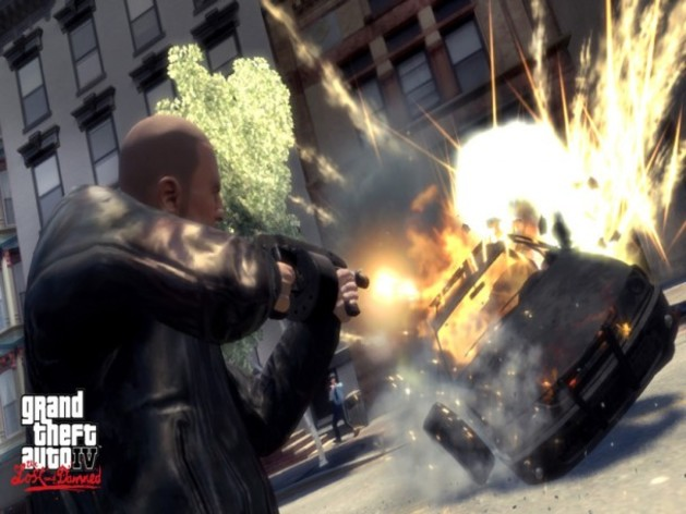 Screenshot 2 - Grand Theft Auto IV:  The Lost & Damned