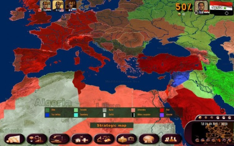 Screenshot 4 - Masters of the World - Geo-Political Simulator 3