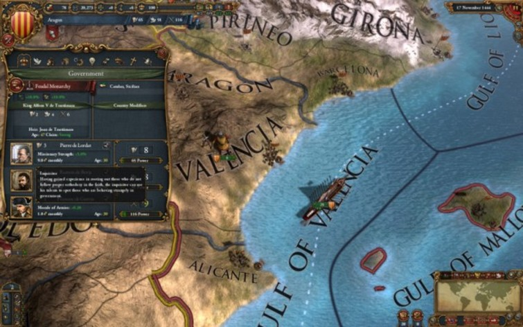 Screenshot 8 - Europa Universalis IV - Digital Extreme Edition