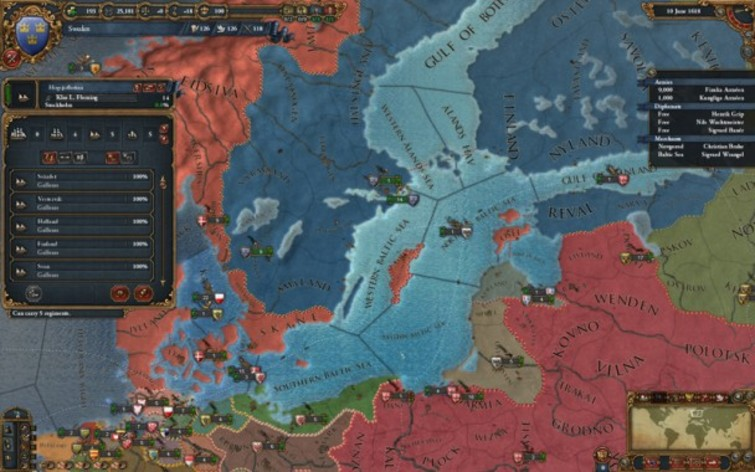 Screenshot 5 - Europa Universalis IV - Digital Extreme Edition