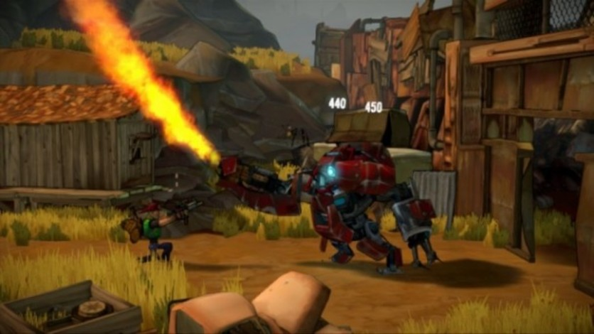 Screenshot 5 - Shoot Many Robots