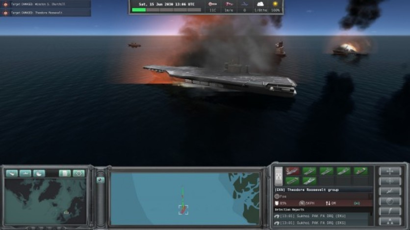 Screenshot 5 - Naval War: Arctic Circle