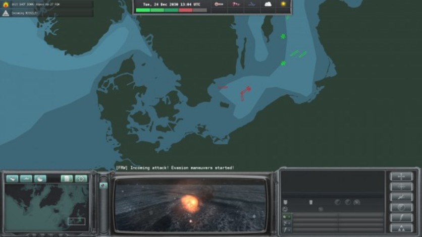 Screenshot 2 - Naval War: Arctic Circle