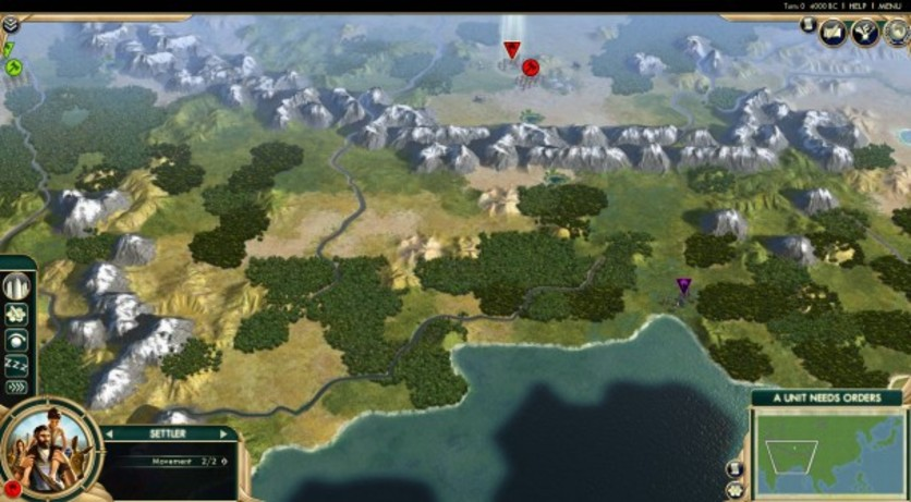 Screenshot 2 - Sid Meier's Civilization V: Scrambled Continents Map Pack