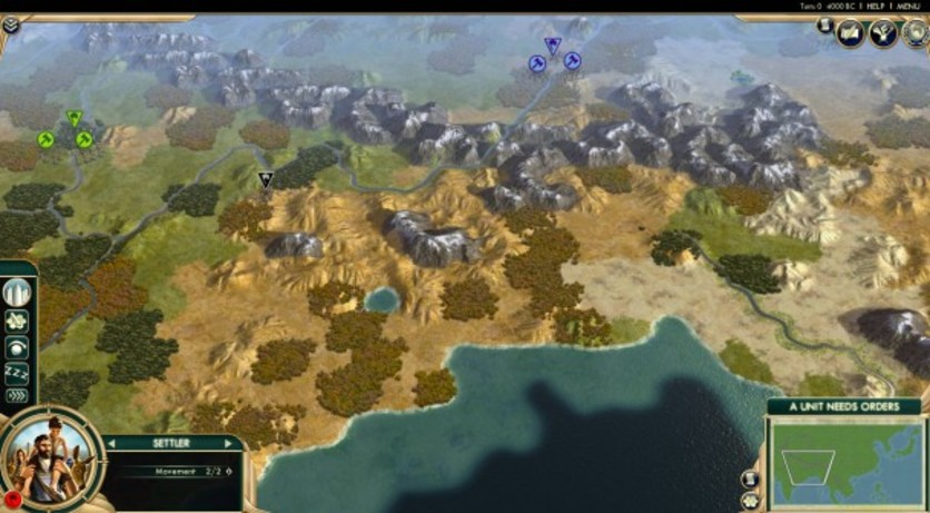 Screenshot 1 - Sid Meier's Civilization V: Scrambled Continents Map Pack