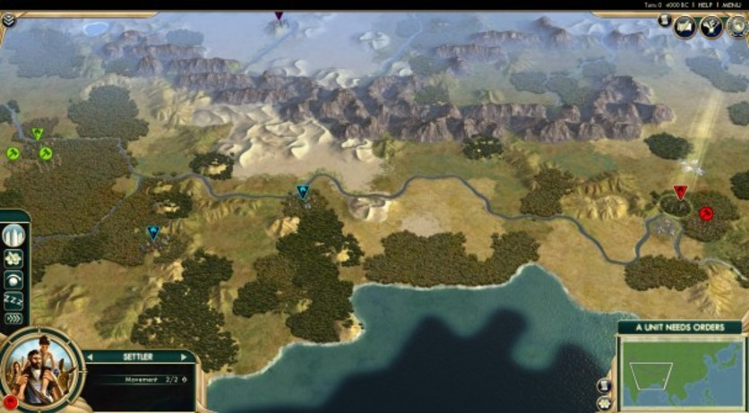 Screenshot 3 - Sid Meier's Civilization V: Scrambled Continents Map Pack