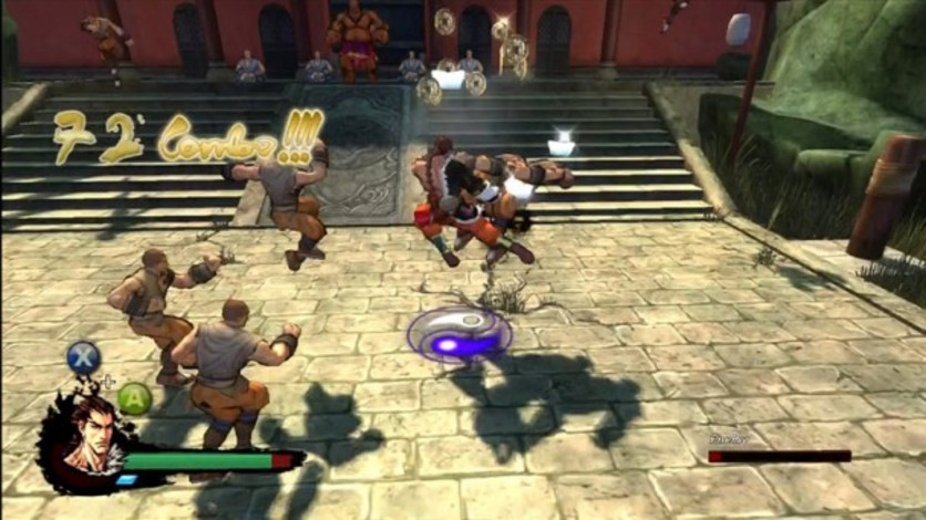 Screenshot 2 - Kung Fu Strike: The Warrior's Rise