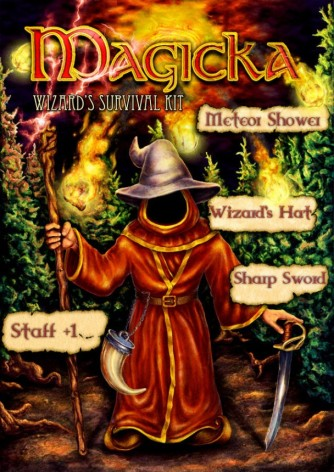 Screenshot 1 - Magicka: Wizard's Survival Kit