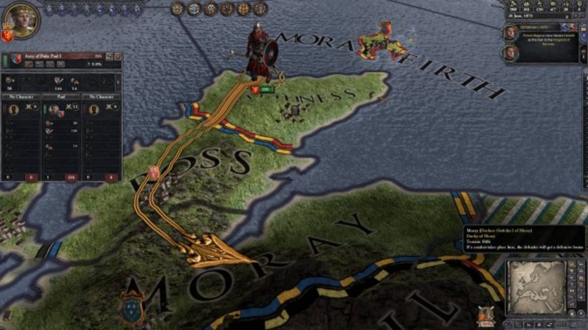 Screenshot 1 - Crusader Kings II: Norse Unit Pack