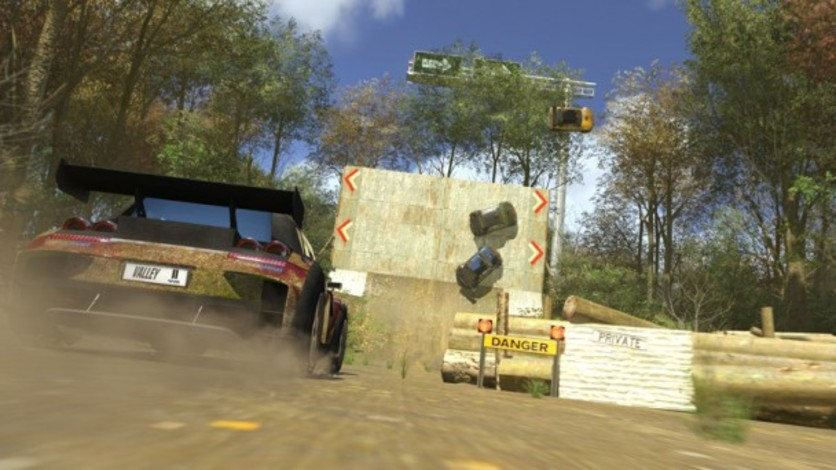 Screenshot 3 - TrackMania² Valley