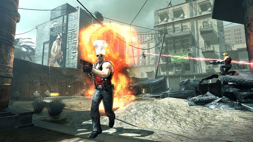 Screenshot 1 - Duke Nukem Forever Hail to the Icons Parody Pack