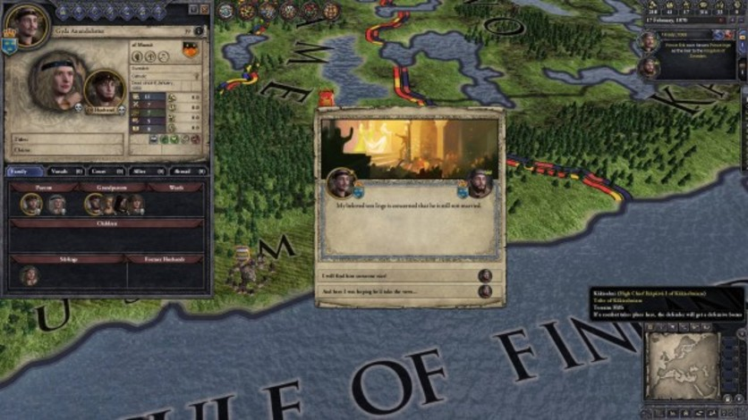 Screenshot 1 - Crusader Kings II: Norse Portraits