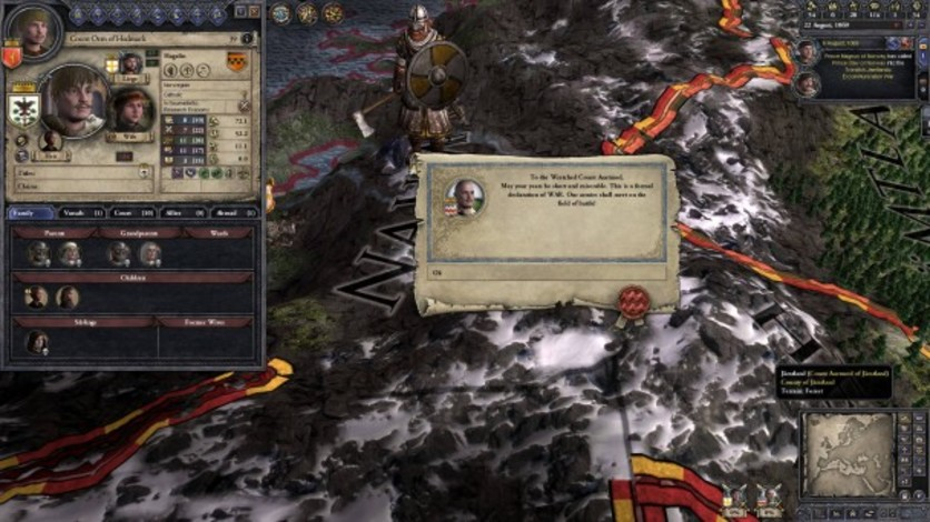 Screenshot 3 - Crusader Kings II: Norse Portraits