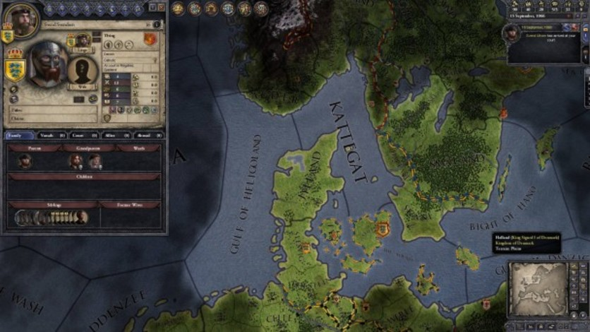 Screenshot 6 - Crusader Kings II: Norse Portraits
