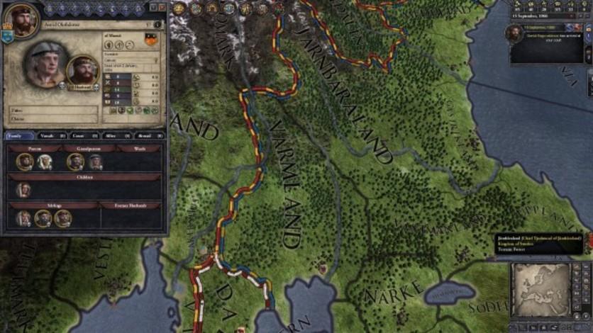 Screenshot 2 - Crusader Kings II: Norse Portraits