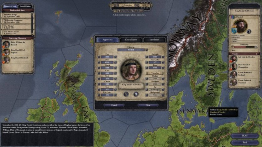 Screenshot 8 - Crusader Kings II: Norse Portraits