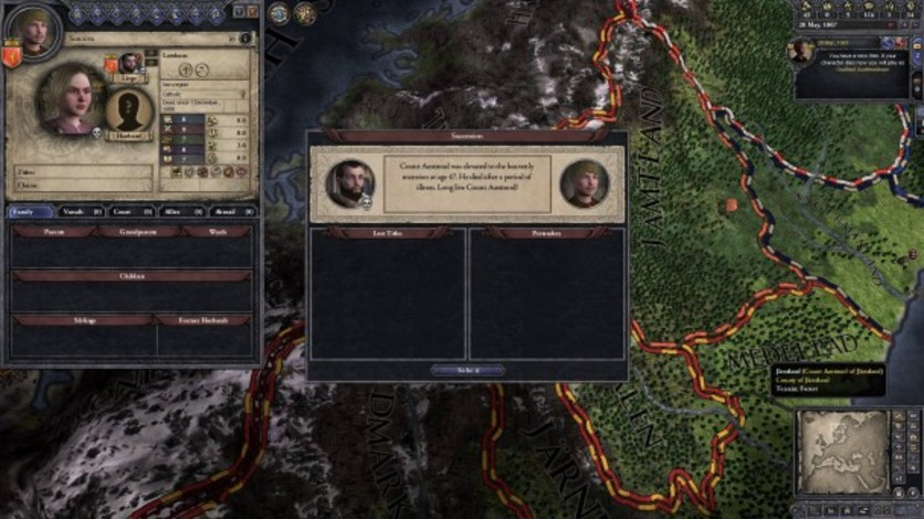 Screenshot 4 - Crusader Kings II: Norse Portraits