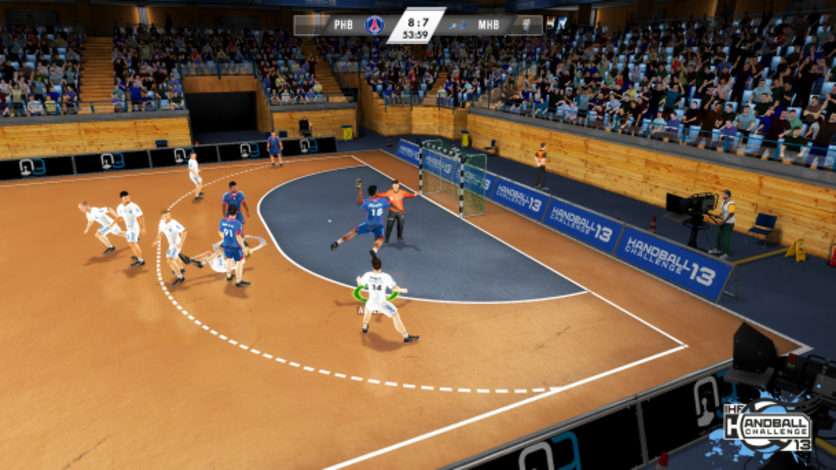 Screenshot 4 - Handball Challenge 2013