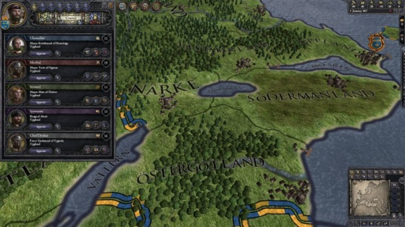 Screenshot 1 - Crusader Kings II: Hymns to the Old Gods