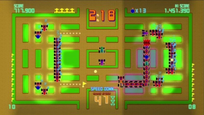 Screenshot 2 - Pac-Man Championship Edition DX+: Rally-X Skin
