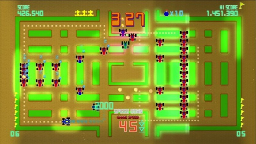 Screenshot 8 - Pac-Man Championship Edition DX+: Rally-X Skin
