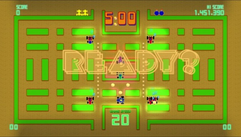 Screenshot 7 - Pac-Man Championship Edition DX+: Rally-X Skin