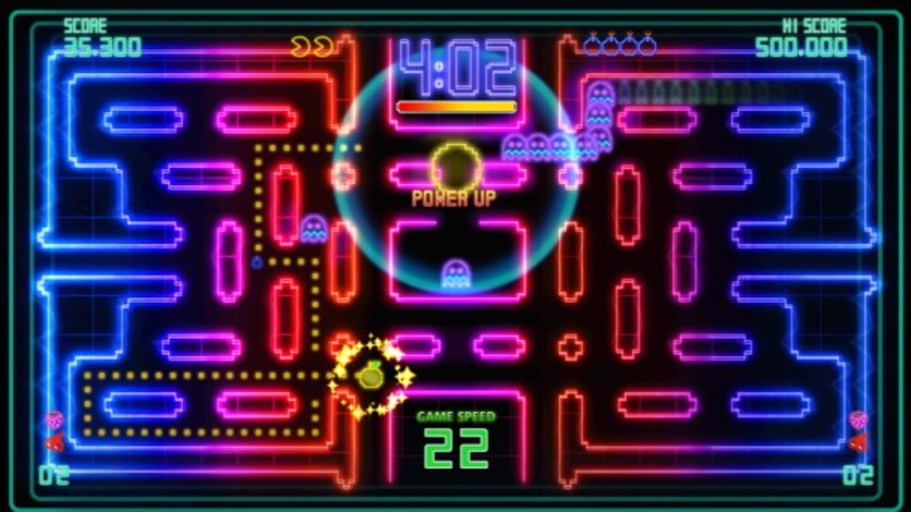Screenshot 4 - Pac-Man Championship Edition DX+: Championship III & Highway II Courses