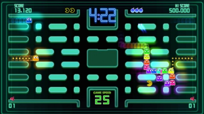 Screenshot 3 - Pac-Man Championship Edition DX+: Championship III & Highway II Courses