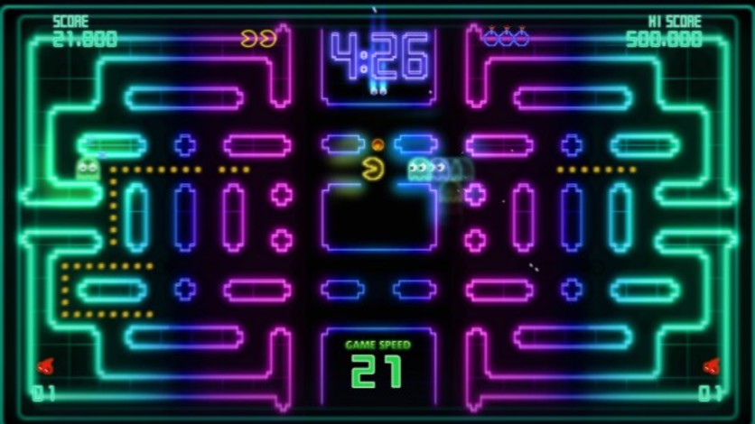 Screenshot 1 - Pac-Man Championship Edition DX+: Championship III & Highway II Courses