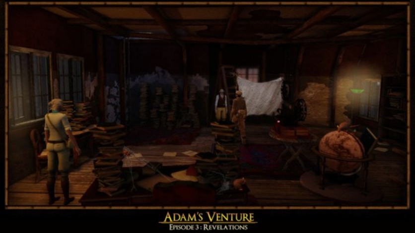 Screenshot 3 - Adam's Venture Ep. 3 - Revelations