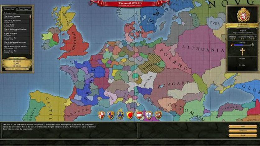 Screenshot 9 - Europa Universalis III Chronicles