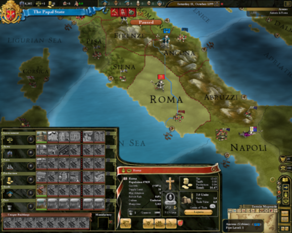 Screenshot 5 - Europa Universalis III Chronicles