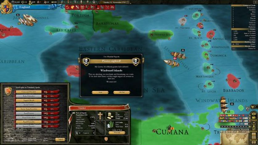 Screenshot 6 - Europa Universalis III Chronicles