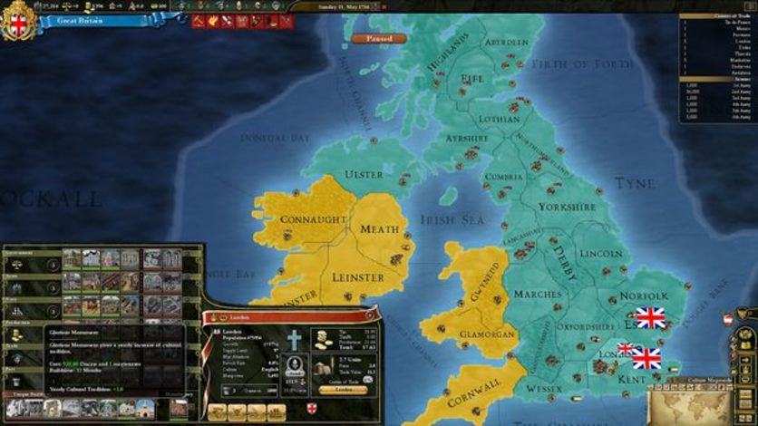 Screenshot 8 - Europa Universalis III Chronicles