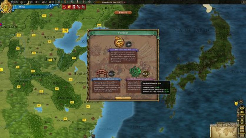 Screenshot 1 - Europa Universalis III Chronicles